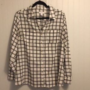 Charter Club Blouse Button Down